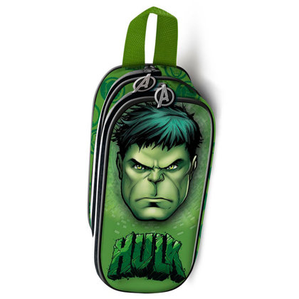 Marvel Hulk 3D double pencil case Size: 10x22,5x7cm