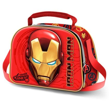 Marvel Iron Man 3D lunch bag Size: 20,5x26x10cm