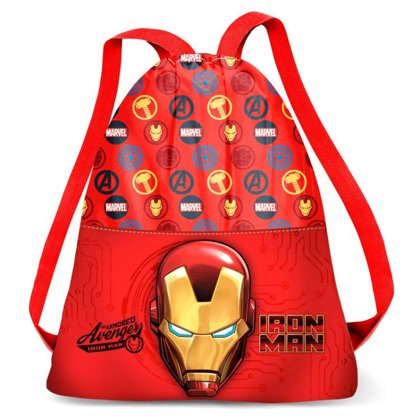 Marvel Iron Man gym bag 41cm Size: 41x35x1cm
