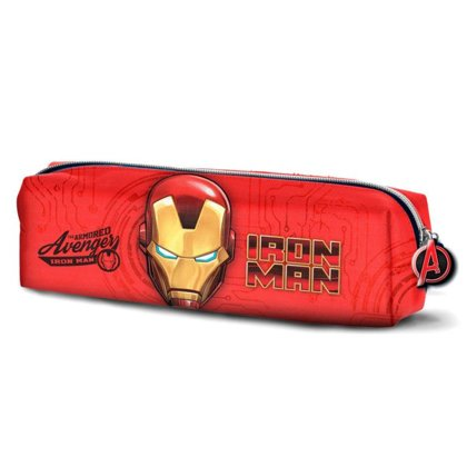 Marvel Iron Man pencil case Size: 6x22x5,5cm.