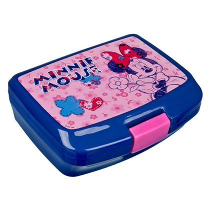 Minnie Mouse Lunchbox 17x13x7cm