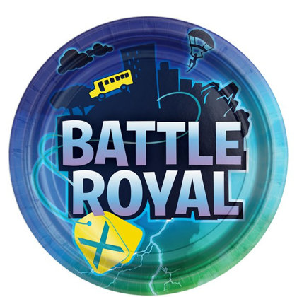 8 piatti 23 cm Fortnite Battle Royal