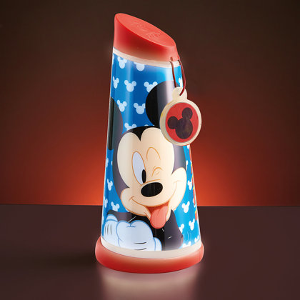 Luce Notturna Mickey Mouse  7 x 7 x 16 cm