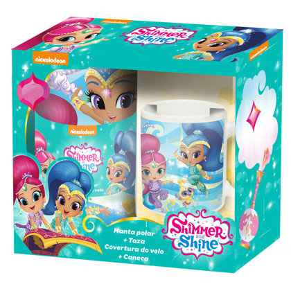 Set Regalo Shimmer & Shine Plaid + tazza