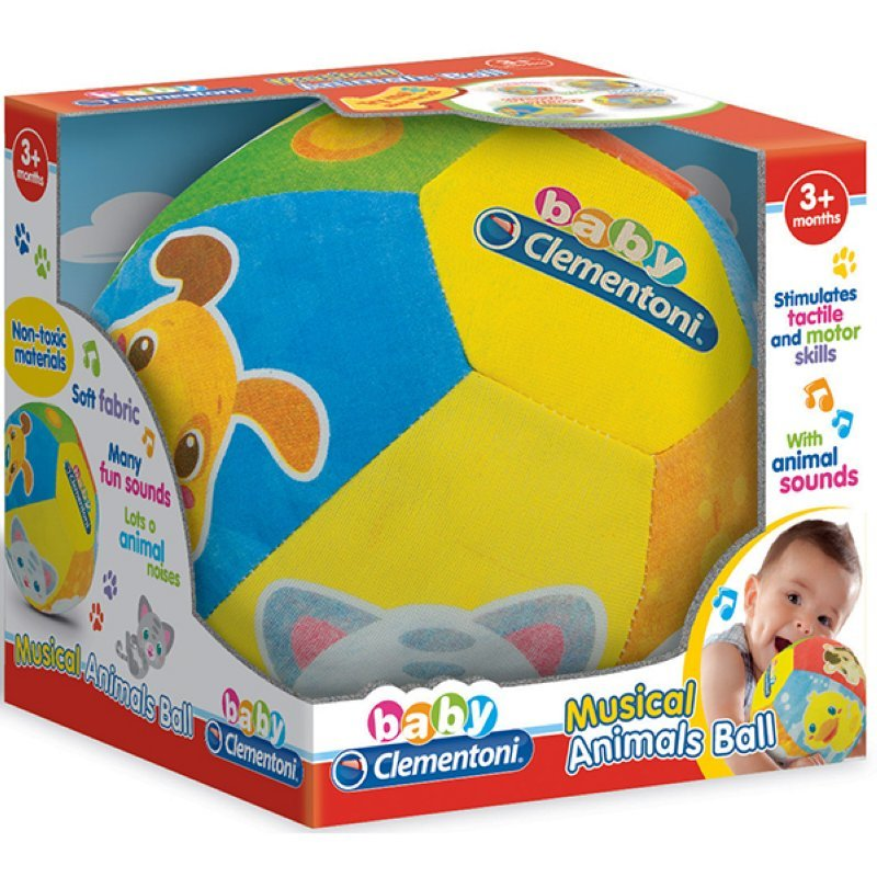 Sound Activity Soft Ball Clementoni