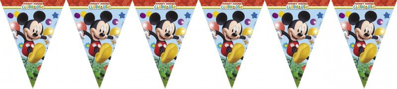 Wimpel Girlande mickey mouse