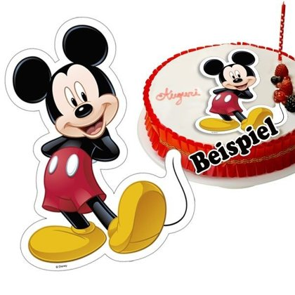 Cialda torta mickey mouse forma ,20x30cm