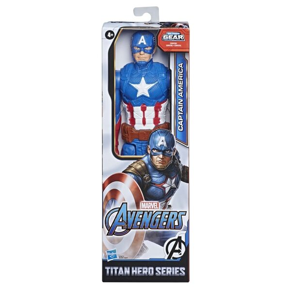 Marvel The Avengers: Titan Hero Endgame, Captain America 30 cm hasbro