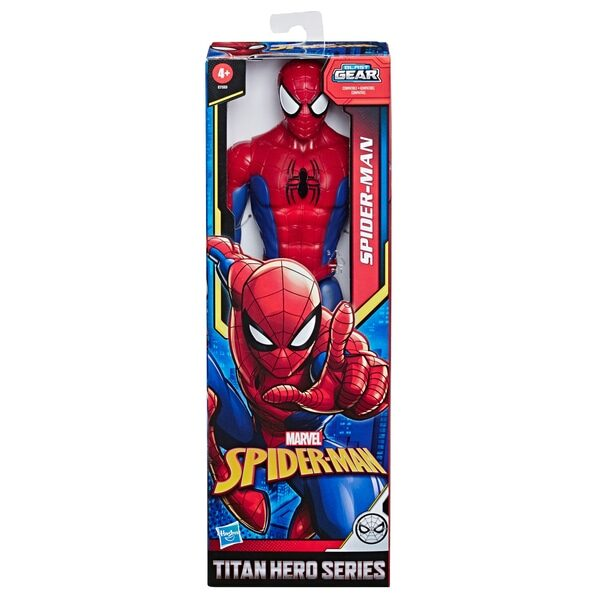 Marvel Spider-Man: Titan Spider-Man Actionfigur 30 cm Hasbro