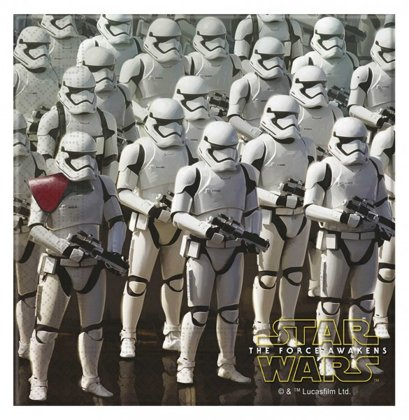 20 tovaglioli Star Wars Episode 7 - the Force Awakens