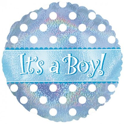 folienballon 45 cm rotondo its a girl
