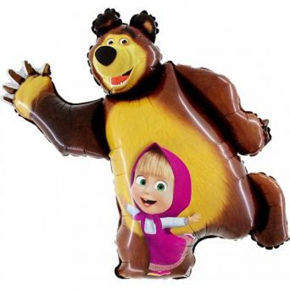 Folienballon Masha and the Bear