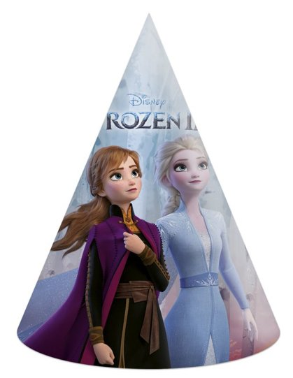 6 Party cappellini Frozen 2