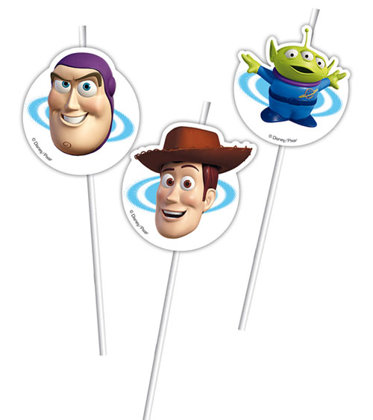 6 cannucce Toy Story