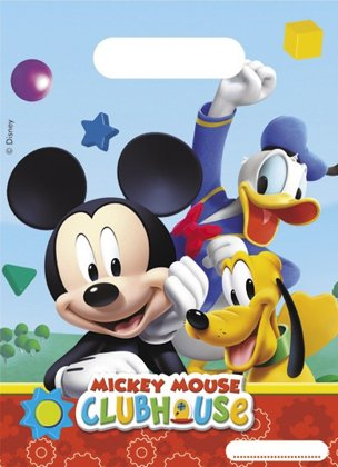 6 Bustine mickey mouse