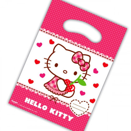 6 party tüten Hello Kitty