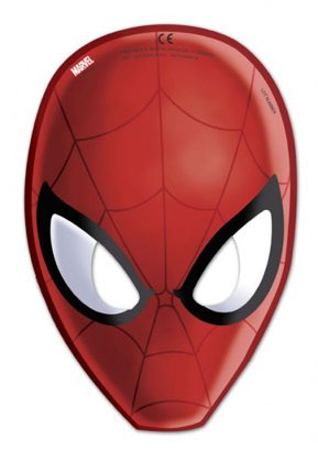6 masken Spiderman