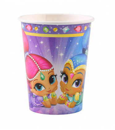 8 becher Shimmer & Shine