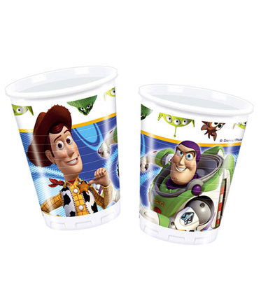 8 becher Toy Story