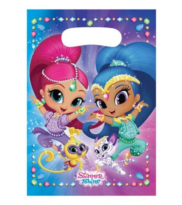 8 party tüten Shimmer & Shine