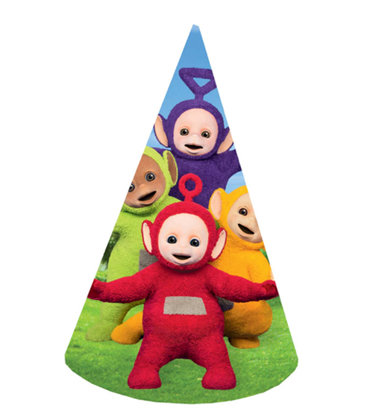 8 cappellini Teletubbies
