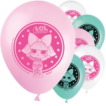 8 palloncini 30 cm L.O.L Surprise party