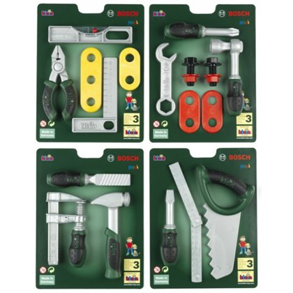 Set di utensili BOSCH assortiti