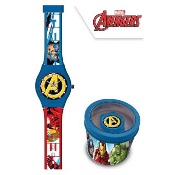 Avengers Orologio Analogico in Metall-Box