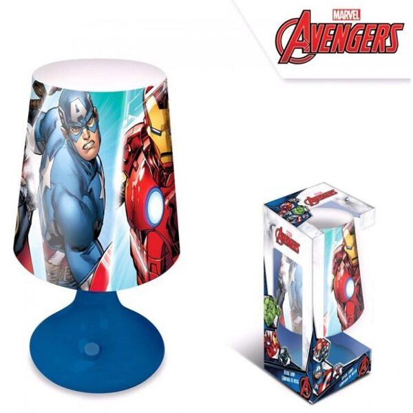 Avengers Mini LED Lampada 18 cm