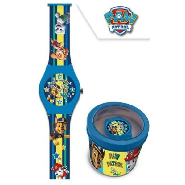 Paw Patrol orologio Analogico in Metal-Box