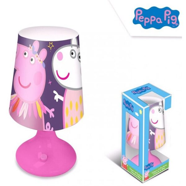 Peppa pig Mini LED Lampada 18 cm