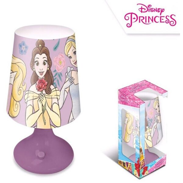 Disney Princess Mini LED Lampada 18 cm
