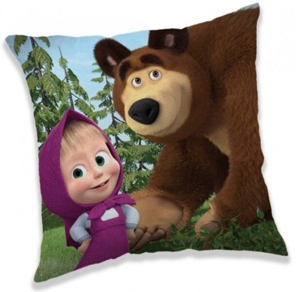 Masha and the Bear cuscino 40*40 cm