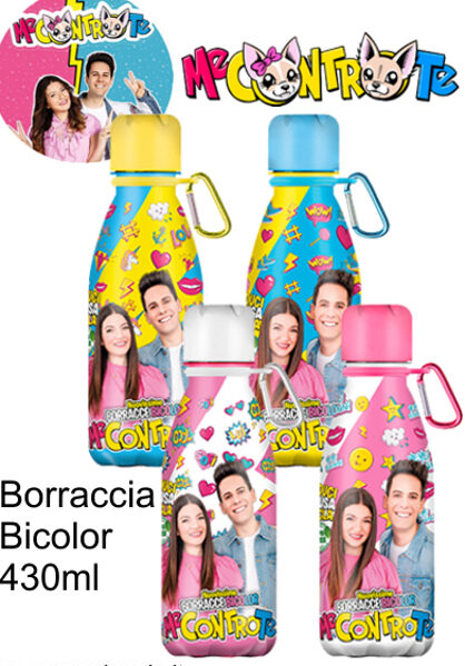 "BORRACCE ECO FRIENDLY  ""ME CONTRO TE"" 430 ML"
