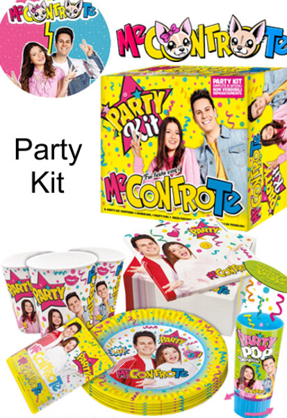 "PARTY KIT ""ME CONTRO TE"""