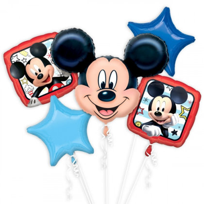 Ballon-Set, 5-pezzi mickey mouse