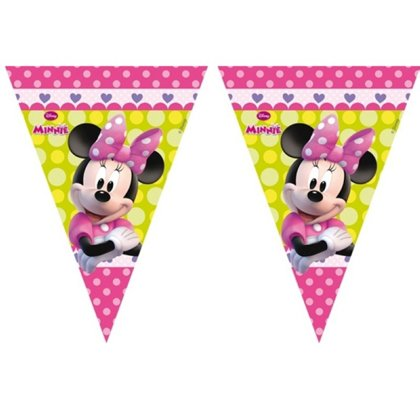 Bandierine 3 m  Minnie Mouse