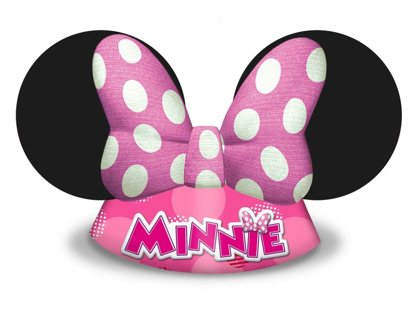 6 Cappellini minnie mouse
