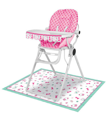 set sedia 2 pezzi Happy One - pink
