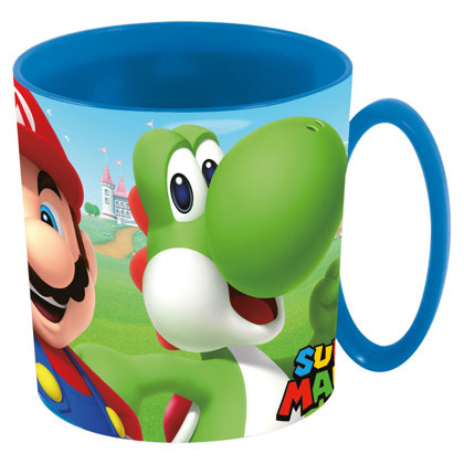Super Mario tazza 350 ml plastica