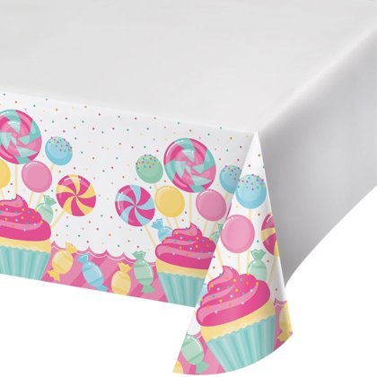 tischdecke plastick 120x220 cm Candy Party