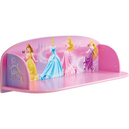 Mensola Disney Princess 60x21x20cm