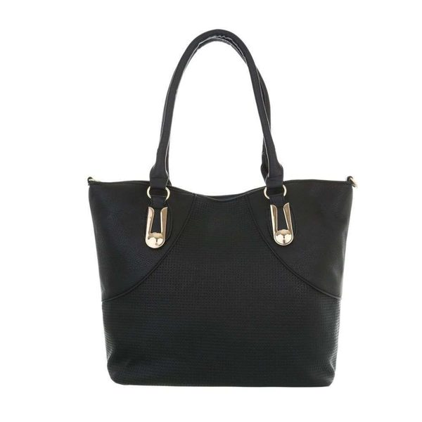 Borsa in nero  31x29 cm con 2 borsette all'interno