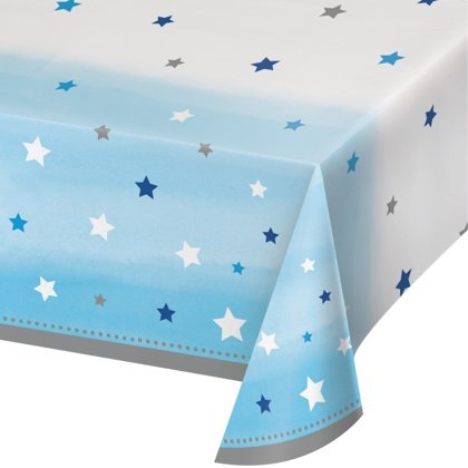 tovaglia little star blu