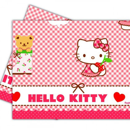 tovaglia 120x180 cm Hello Kitty