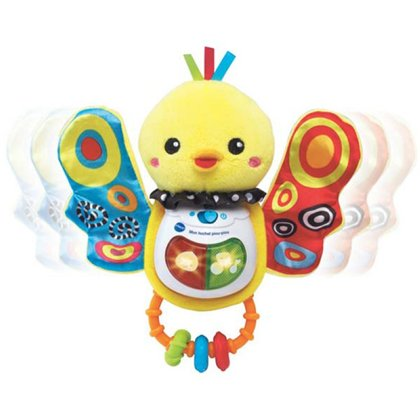 vtech Singspassvogel Rattle D Melodie, canzoni, frasi inclusa 1 batteria AAA / LR03