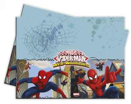 tovaglia plastick 120x180 cm web warriors Spiderman